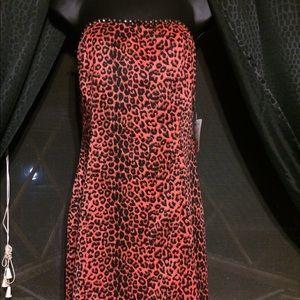 NWT Forever 21 Leopard Print Mini Dress